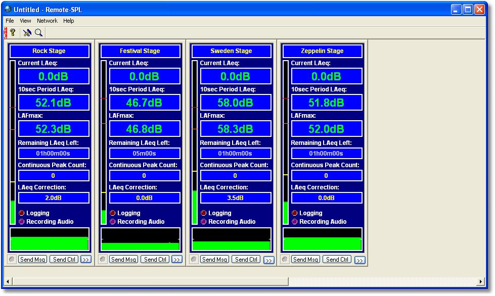 SPL-logging over LAN
